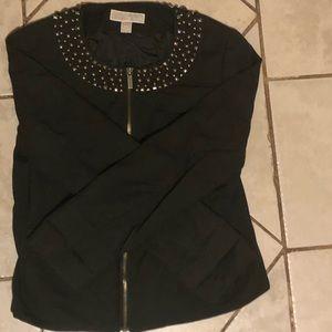 Michael Kor's zip up blazer jacket